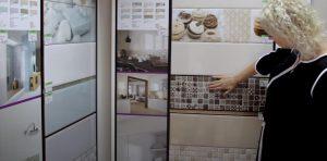 широкий ассортимент керамической плитки в магазине
