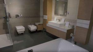 выбор керамической плитки для ванн